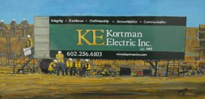 Break Time at Kortman Electric