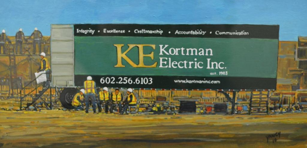Break Time at Kortman Electric